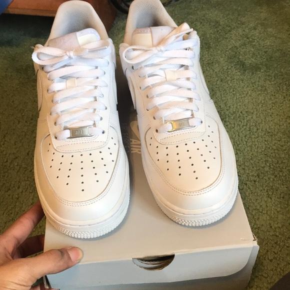 Men Nike af1 Air Force ones size 8-men/women-9.5